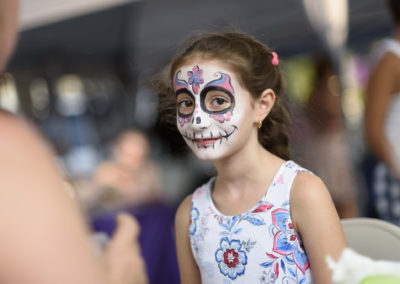 Face Painting at the CIty Island Arts and Crafts Fair
