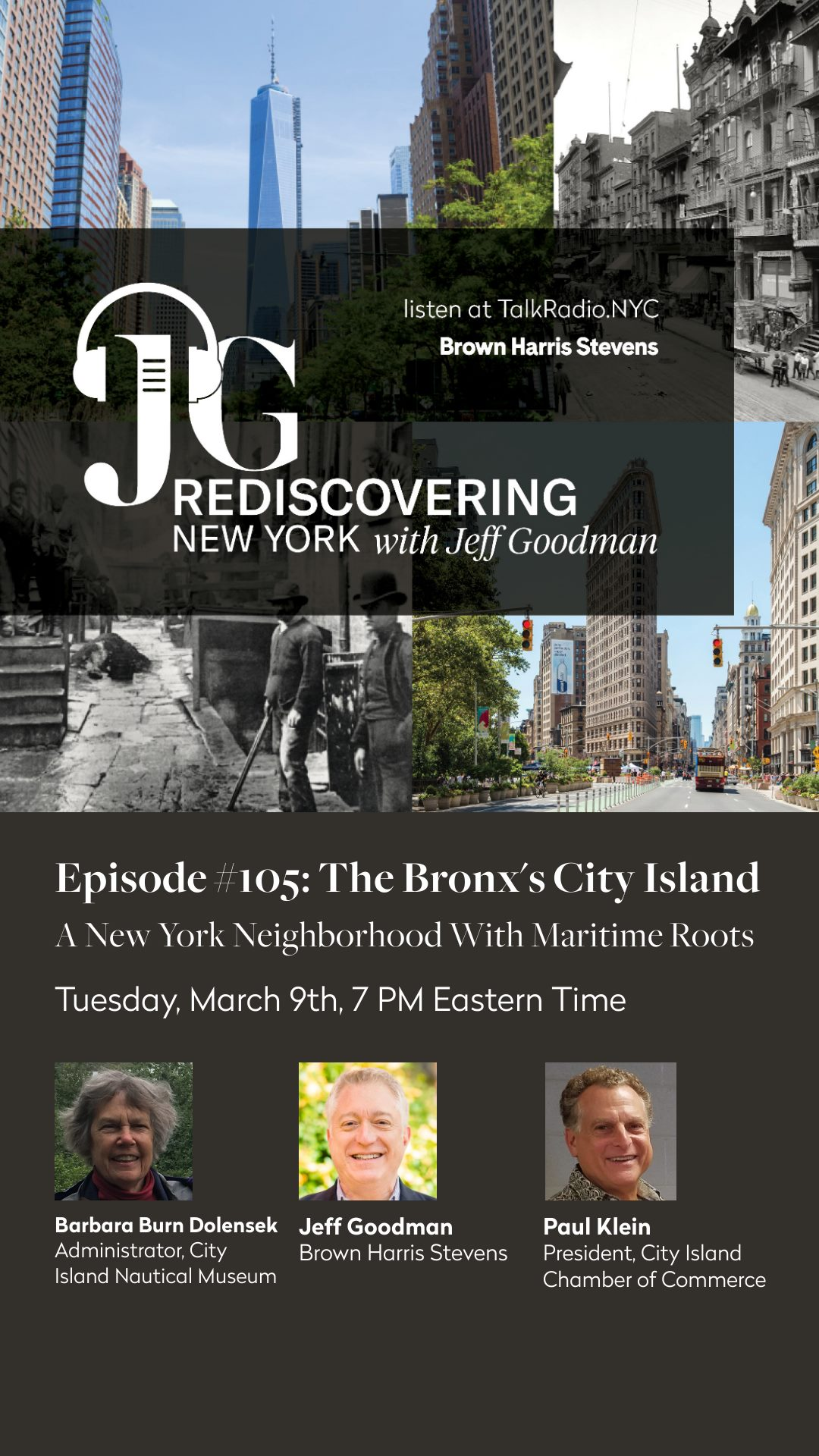 Post for Rediscovering New York with Jeff Goodman - E105: The Bronx's City Island
