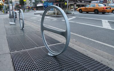 Tell us about the bike racks on City Island