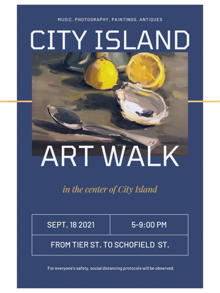 Art Walk flyer