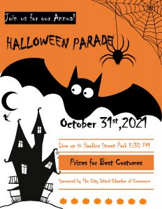 Halloween Parade of 2021 @ Hawkins Park
